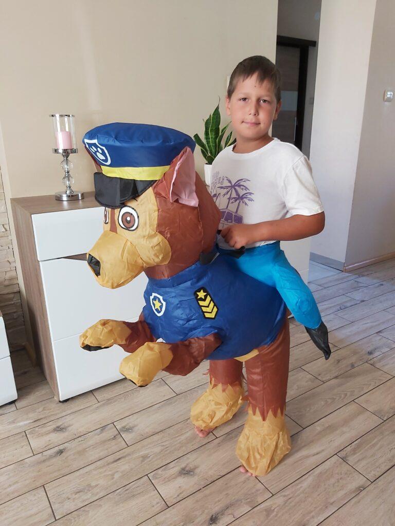Nadmuchiwany Kostium Psi Patrol dla dzieci nr 1 - 40 zł