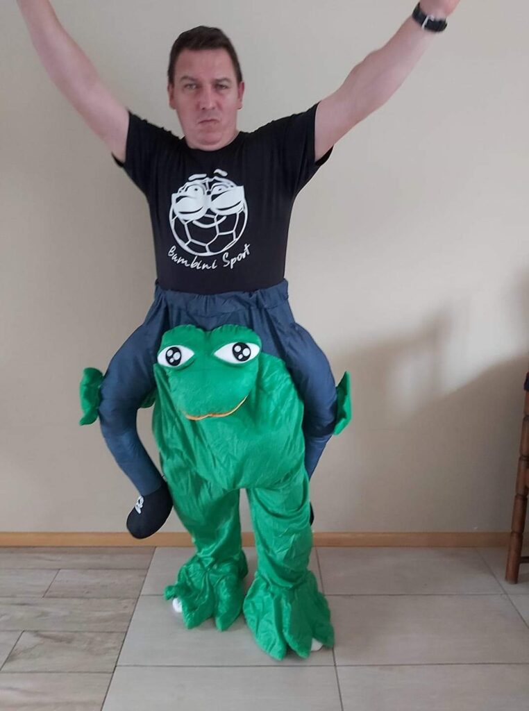Spodnie Żaba - 30 zł